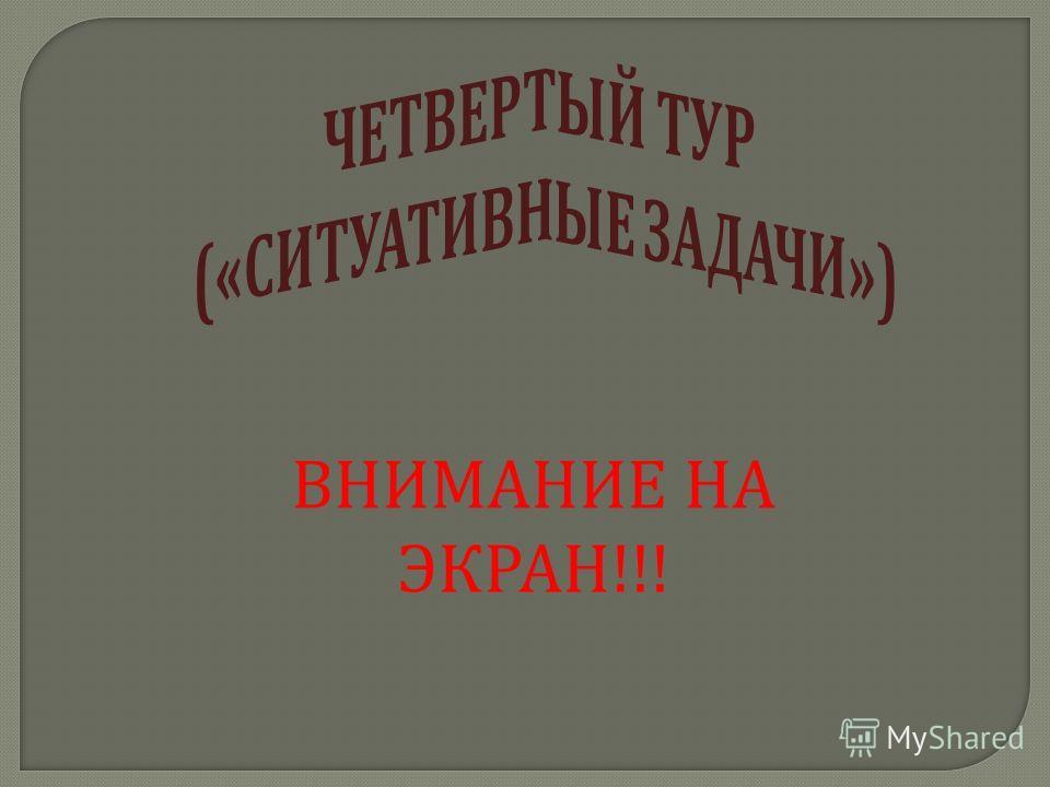 ВНИМАНИЕ НА ЭКРАН !!!