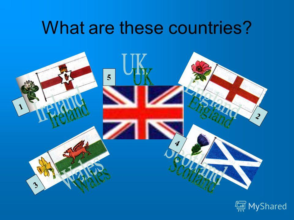 What are these countries? 1 2 3 4 5