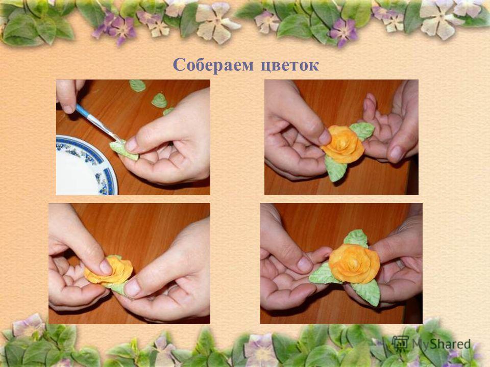 Собераем цветок