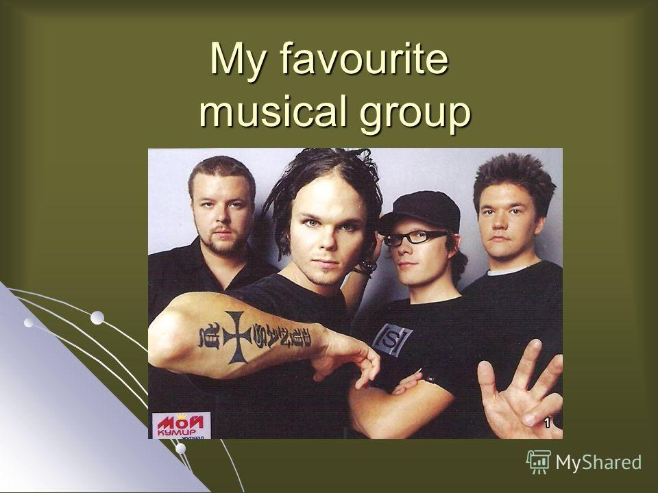 My favourite musical group