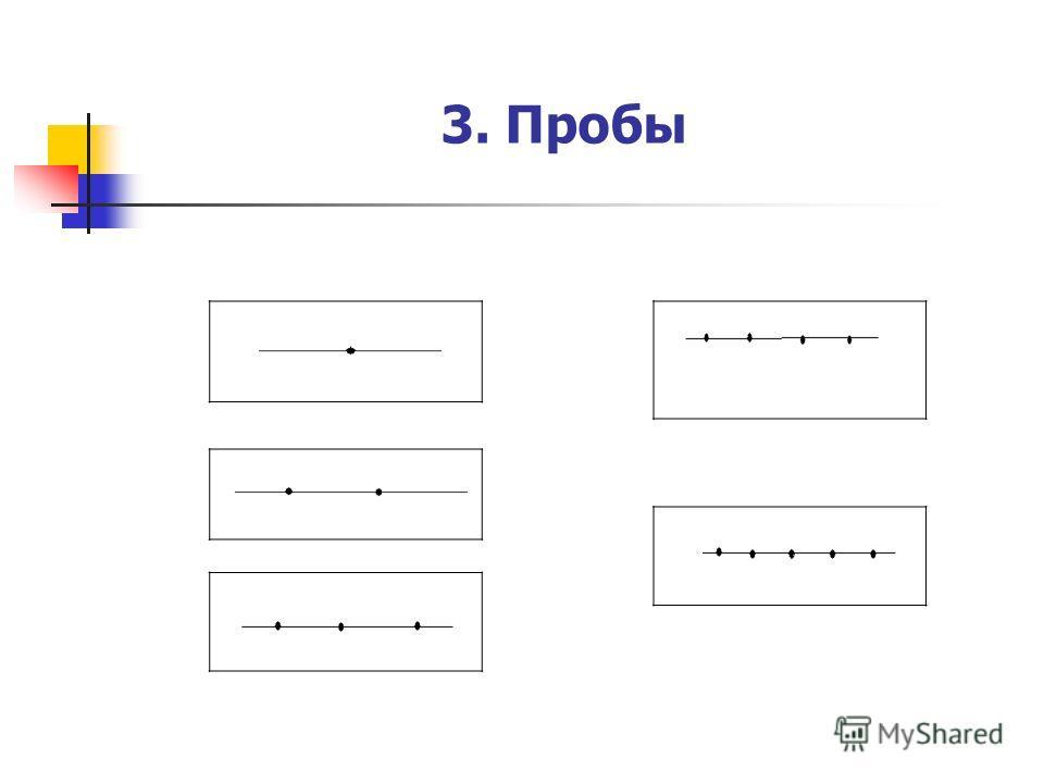 3. Пробы