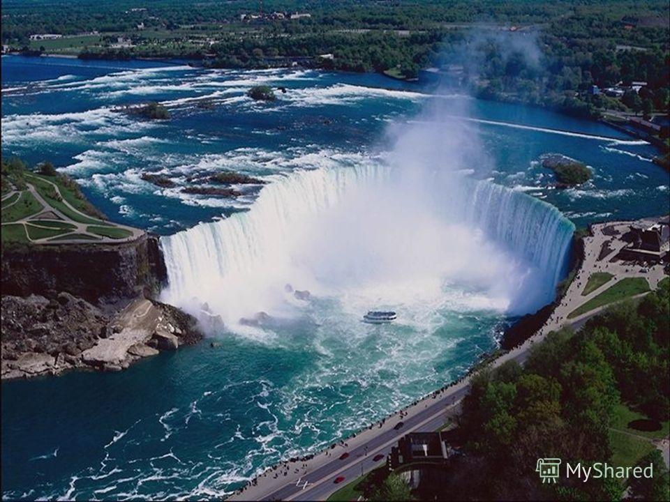 Водопады Падение воды с высокого уступа на реке. Водопады встречаются в горах и на возвышенных равнинах. Самый высокий на Земле водопад – Анхель в Южной Америке (бассейн реки Ориноко). Его высота – 1054 метра. Самыми знаменитыми водопадами считаются