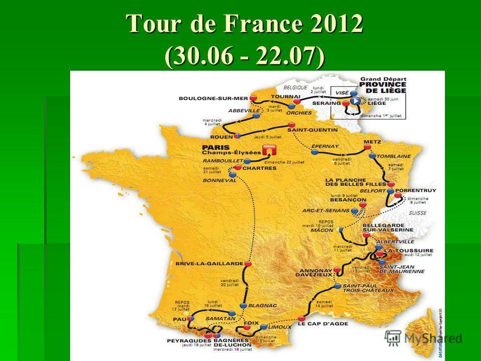Tour de France 2012 (30.06 - 22.07)