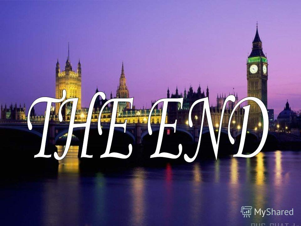 картинки конец на английском языке