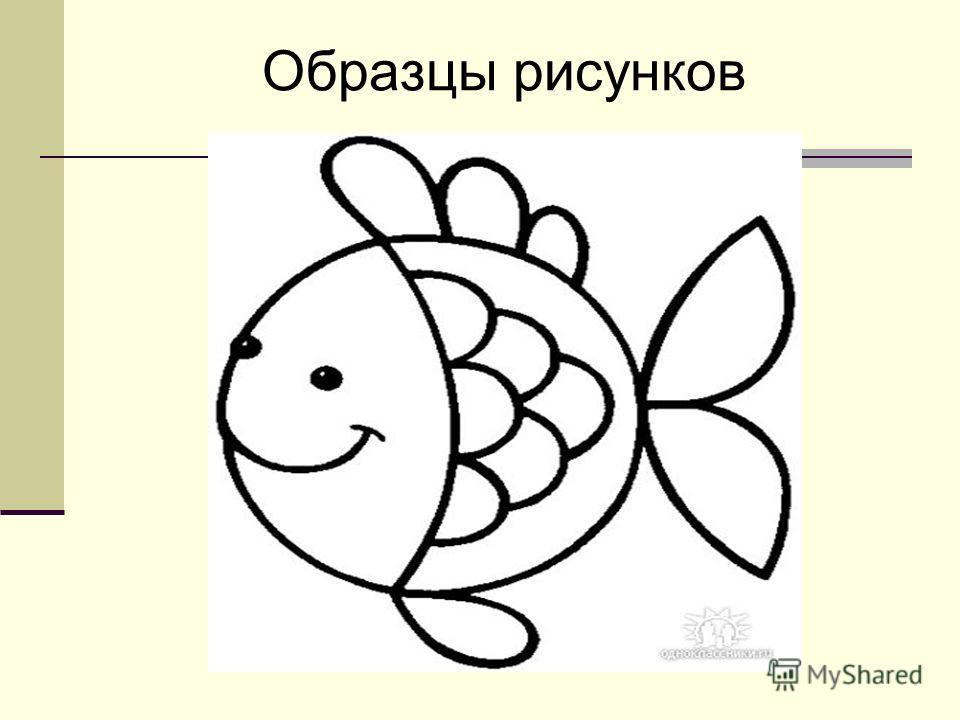 Образцы рисунков