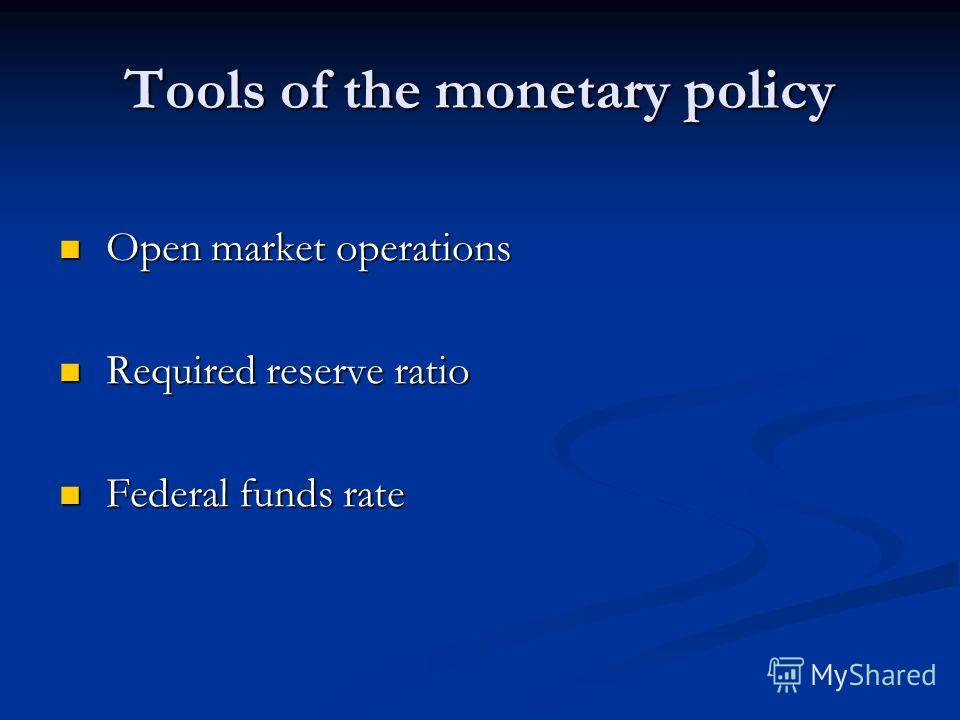 monetary policy term paper Short term, from lower output monetary policy and financial stability international monetary fund 5 introduction and motivation policy monetary policy.
