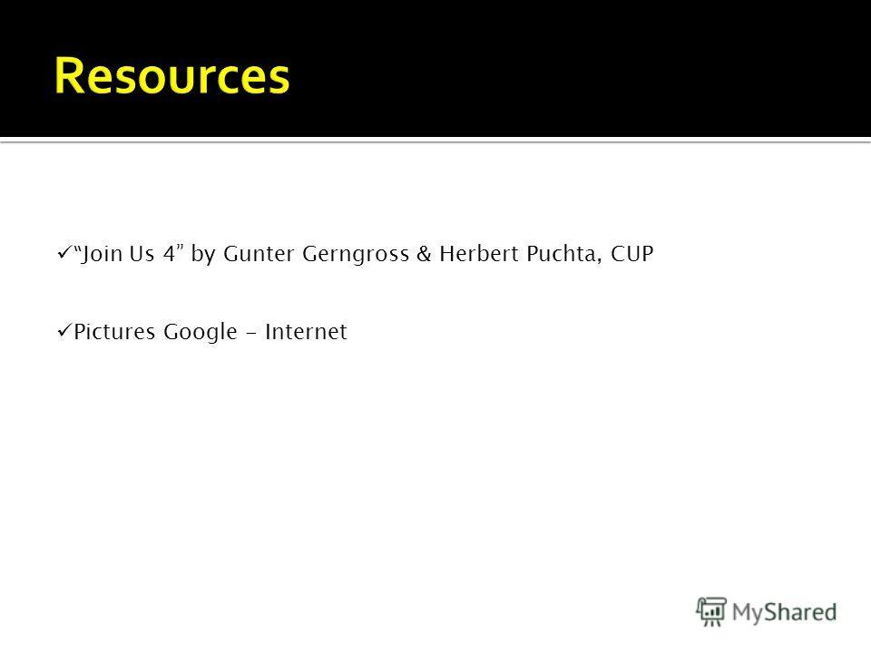 Join Us 4 by Gunter Gerngross & Herbert Puchta, CUP Pictures Google - Internet