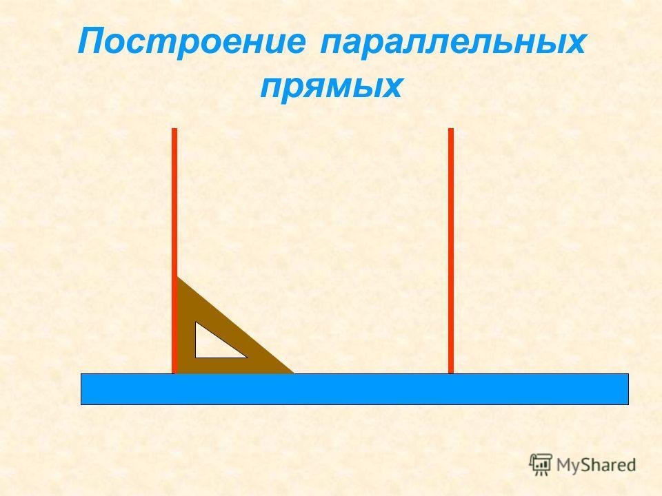 Если две прямые в плоскости перпендикулярны третьей прямой, то они параллельны. l mn