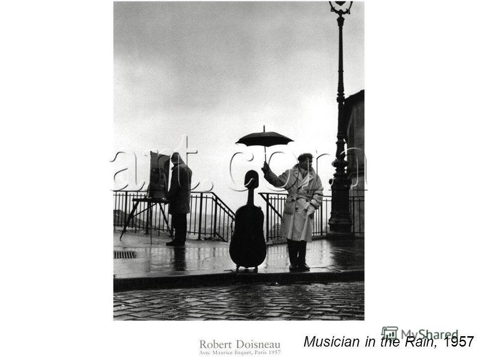 Musician in the Rain, 1957