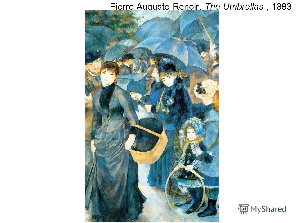Pierre Auguste Renoir, The Umbrellas, 1883