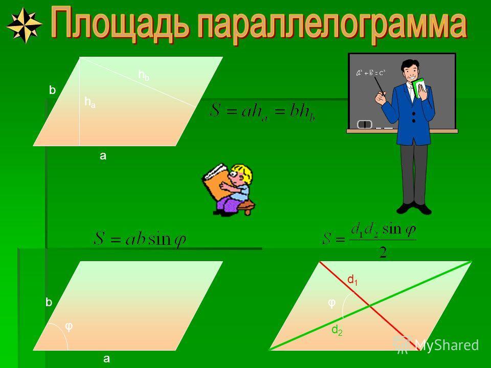 c b a a c b r a c b R Формула Герона р - полупериметр r - радиус вписанной окружности, г де R – радиус описанной окружности