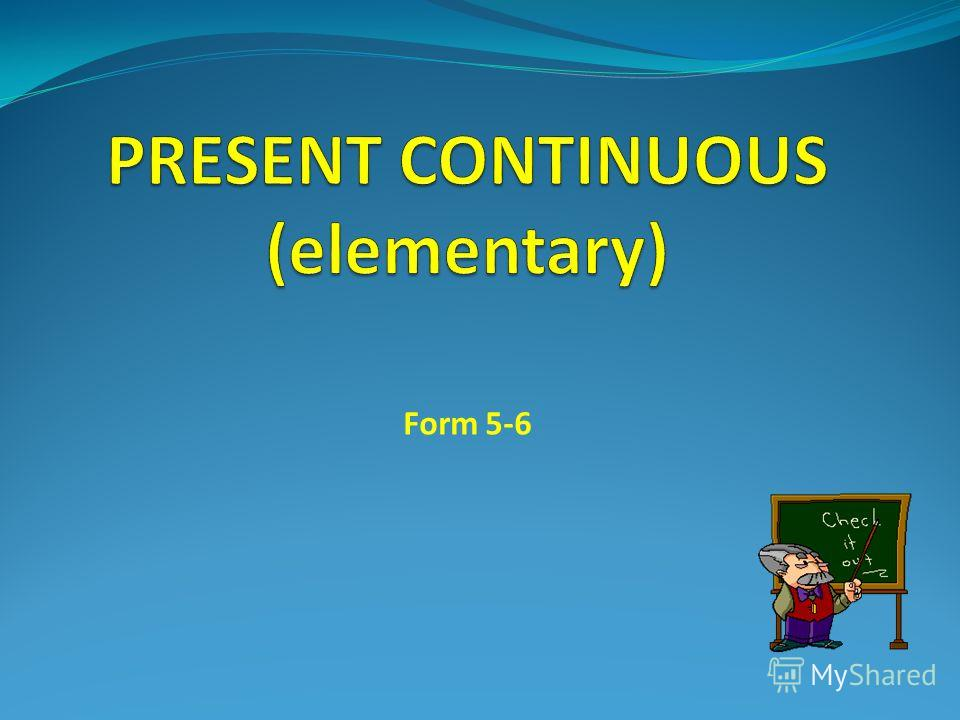 Form 5-6