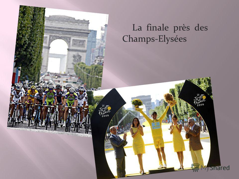 La finale près des Champs-Elysées