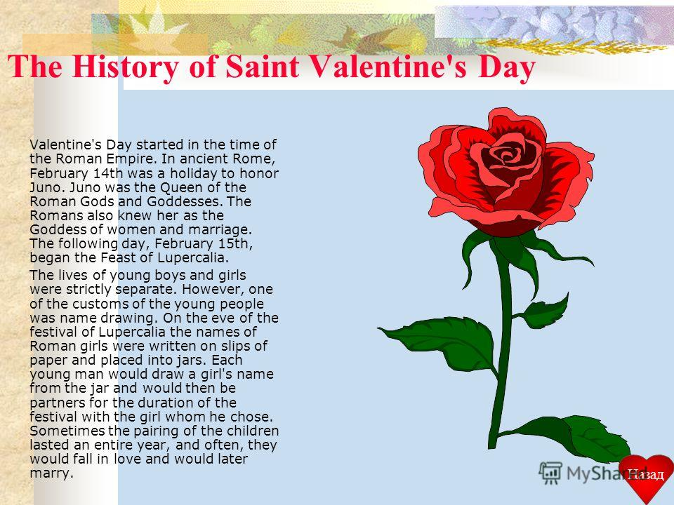 the origin and history of valentines day Saint valentine's day english had their origins among 18th-century antiquaries, notably alban butler, the author of butler's lives of saints.