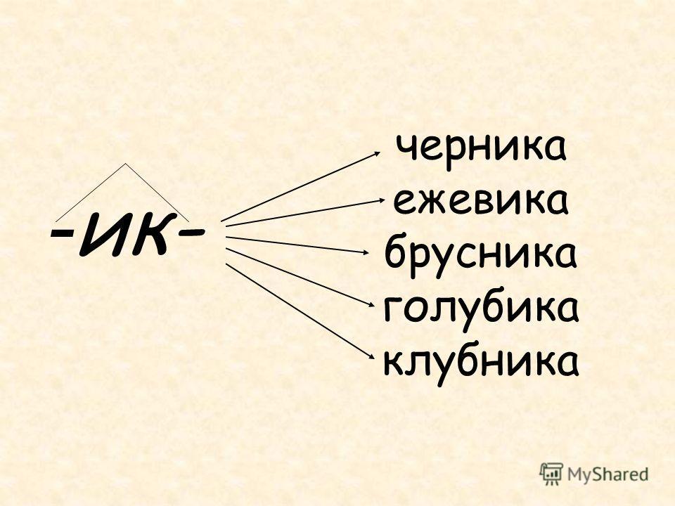 - ик- черника ежевика брусника голубика клубника