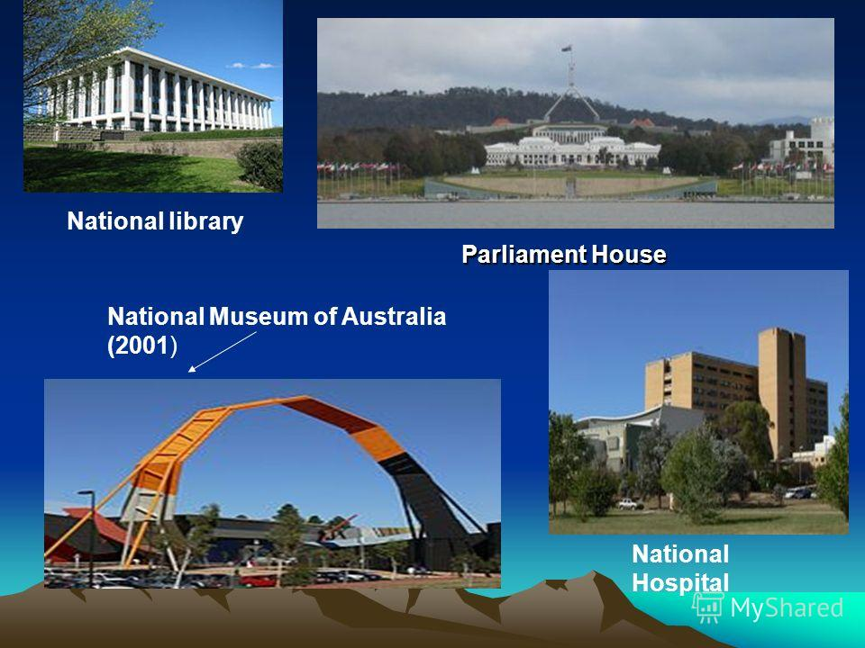 National library National Hospital Parliament House National Museum of Australia (2001)