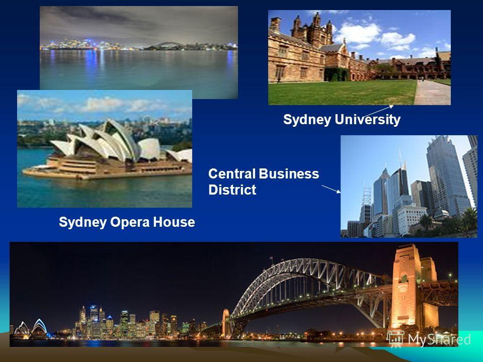 Sydney Opera House Sydney University Central Business District