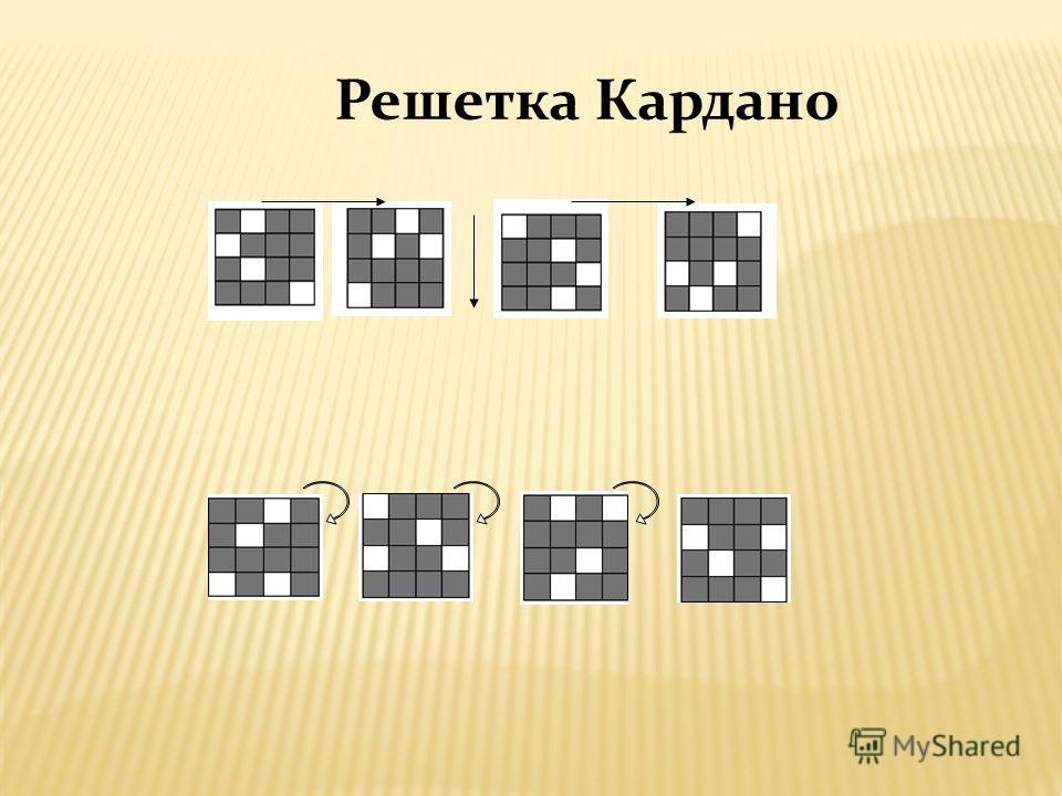 Решетка Кардано