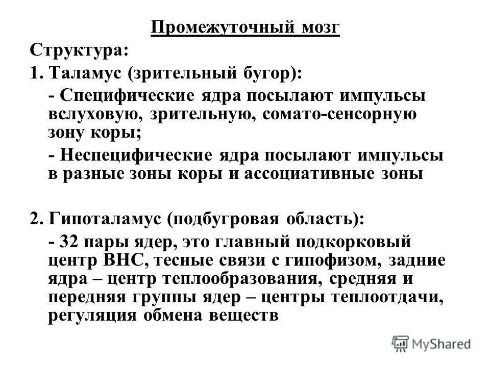 Бугор Зрительный