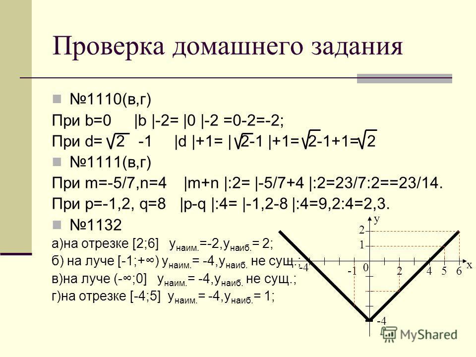 Решение уравнений, содержащих модуль