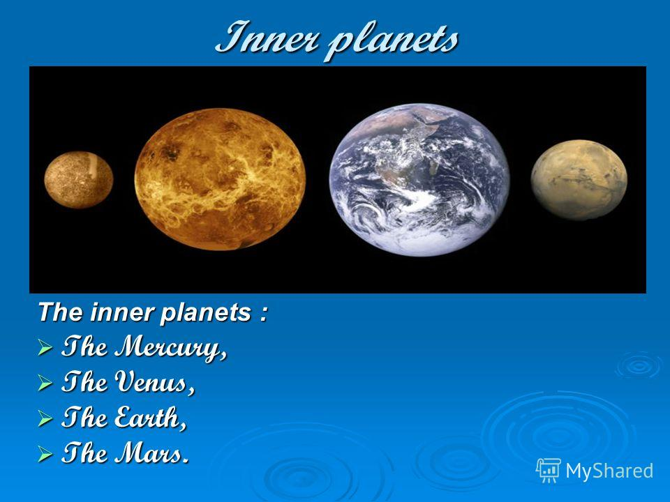 inner planets the sun by - photo #43