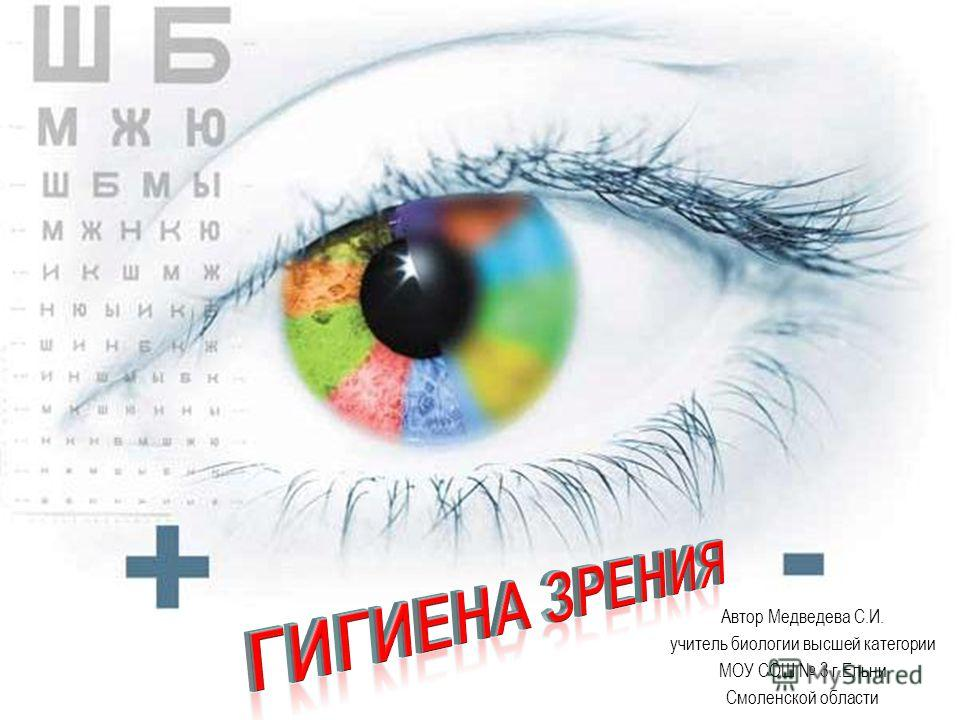 Автор Медведева С.И. учитель биологии высшей категории МОУ СОШ 3 г.Ельни Смоленской области