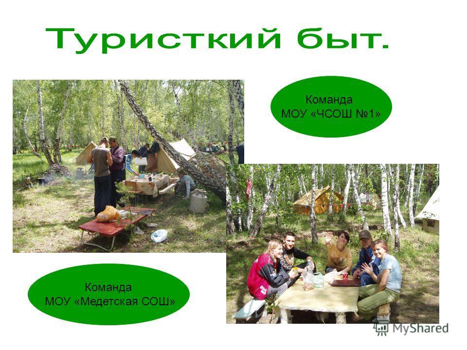Команда МОУ «Медетская СОШ» Команда МОУ «ЧСОШ 1»