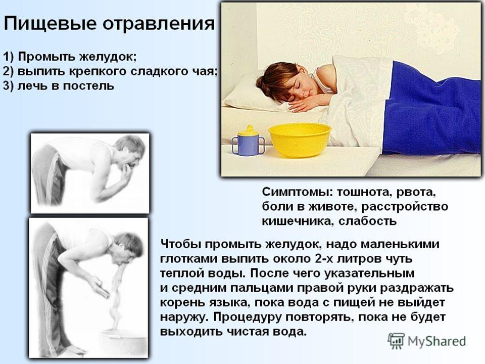 При отравлении беременной что выпить 89