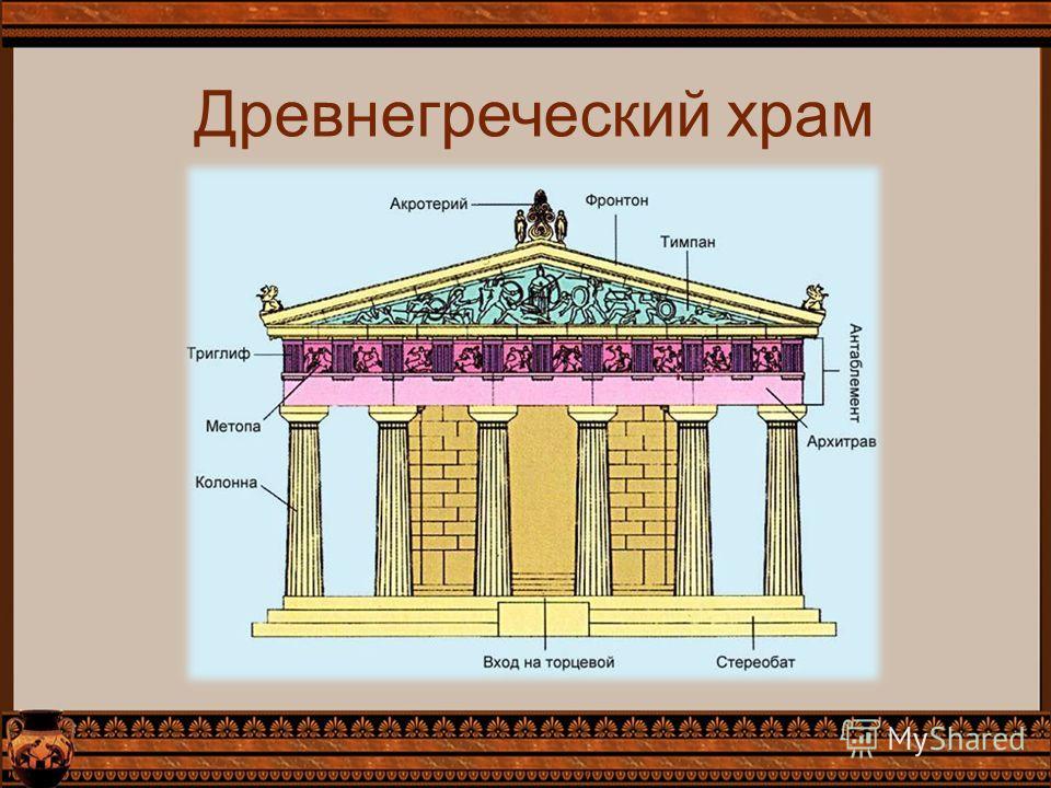 Древнегреческий храм