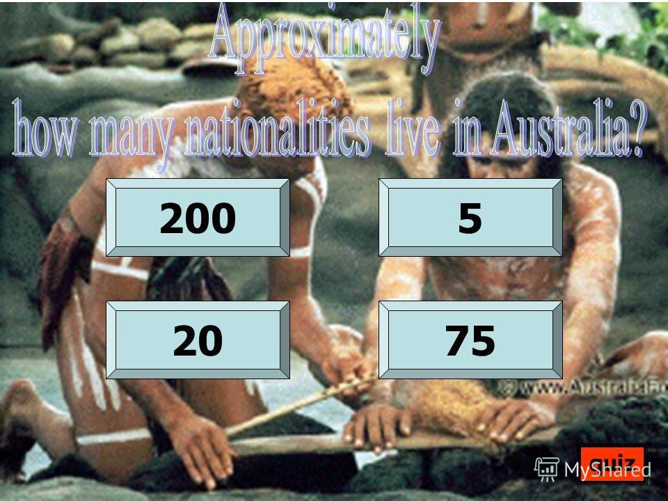 2005 2075 quiz
