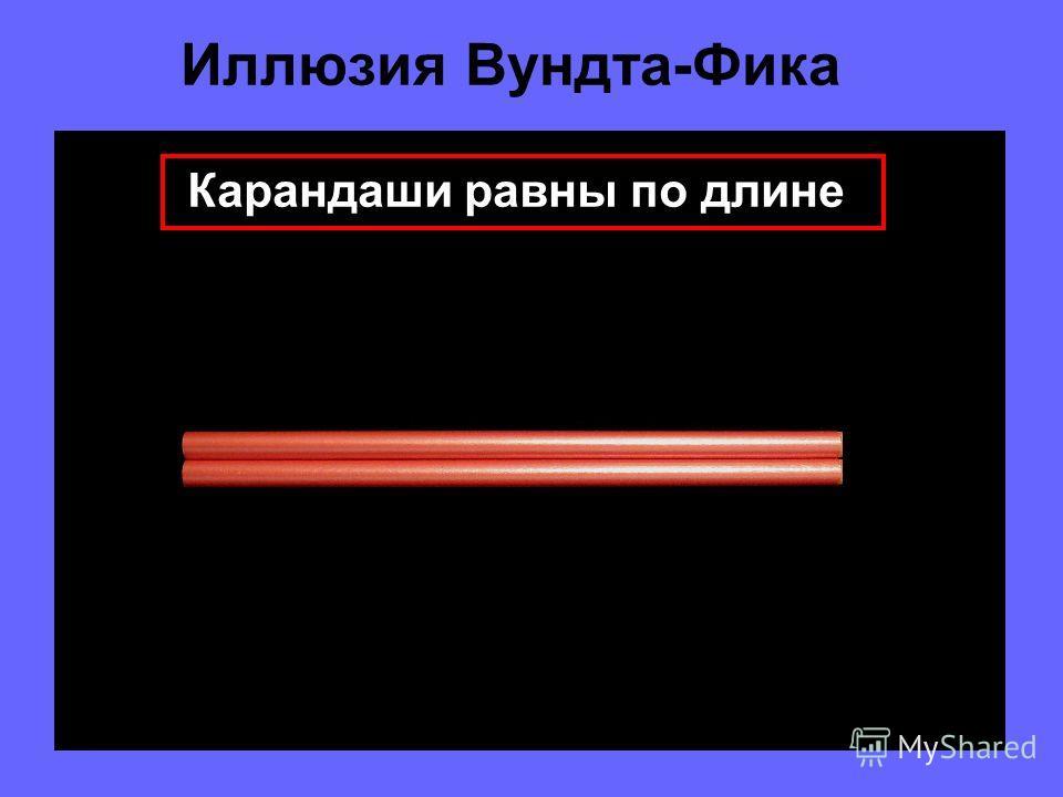 Горизонтально Иллюзия Вундта-Фика Вертикально