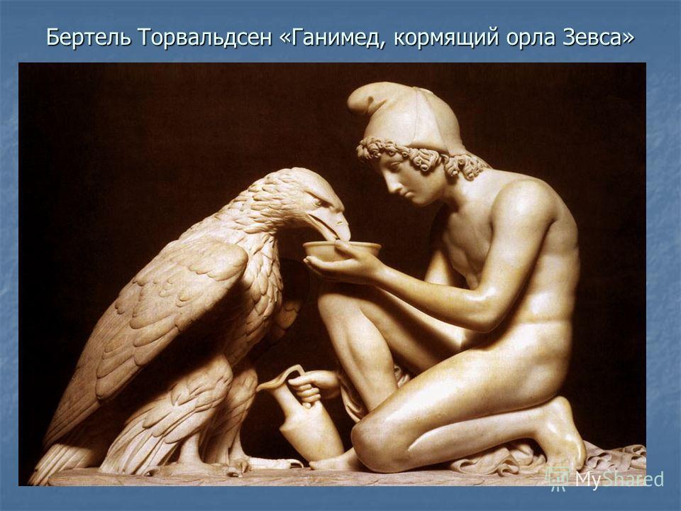 Бертель Торвальдсен «Ганимед, кормящий орла Зевса»