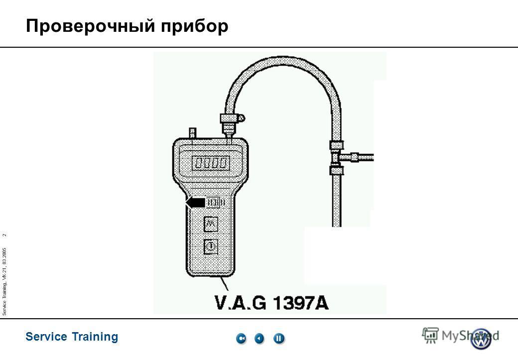 Service Training 1 Service Training, VK-21, 03.2005 Регулирование давления наддува Соотношение величин ДАВЛЕНИЕ 1 bar=................. mbar =................ hPa Абсолютное давление Относительное давление 01 0 2 1 Атмосферное давление Позитивное эфф