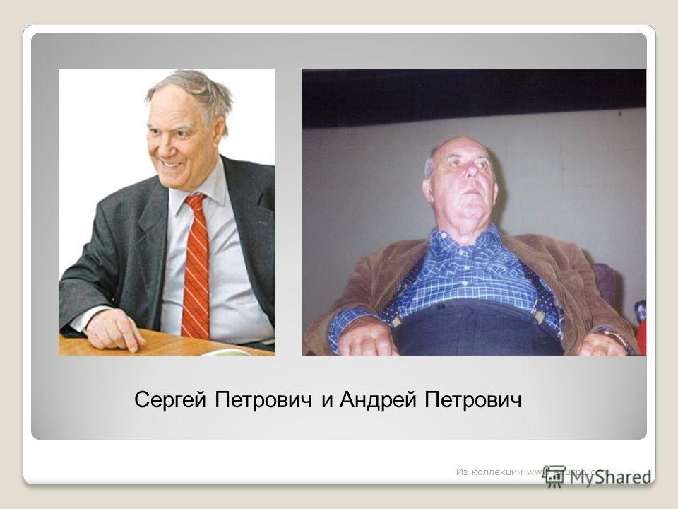 Сергей Петрович и Андрей Петрович Из коллекции www.eduspb.com