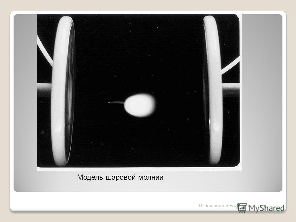 Модель шаровой молнии Из коллекции www.eduspb.com