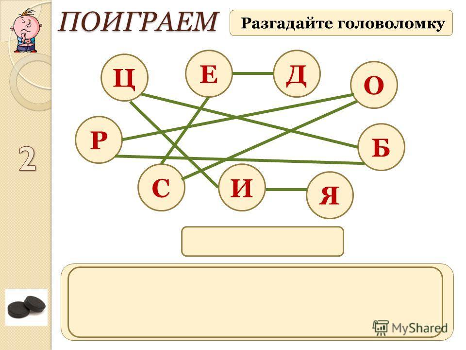 процесс, обратный адсорбции – удаление адсорбированного вещества с поверхности адсорбента Разгадайте головоломку ПОИГРАЕМ Д Ц Б И О Е С Р Я ДЕСОРБЦИЯ