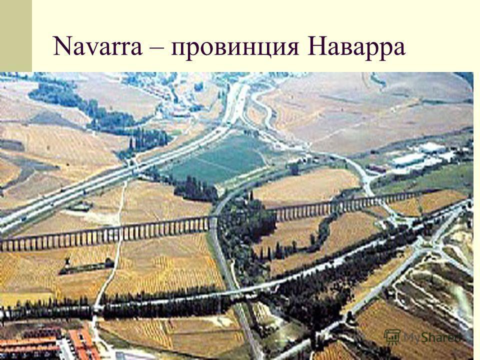 Navarra – провинция Наварра