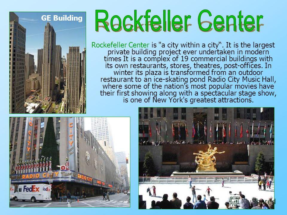 Rockefeller Center is