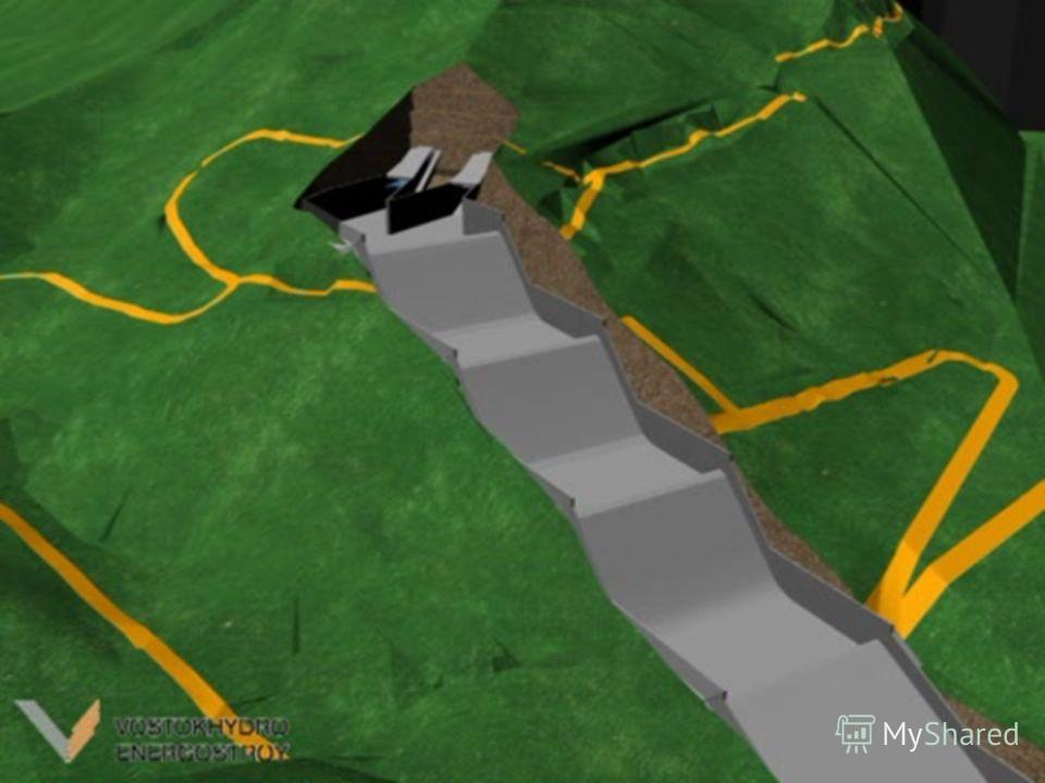 Строительство дополнительного берегового водосброса СШ ГЭС продиктовано необходимостью повышения надежности и безопасности объекта, т.к.: в процессе выбора типа плотины геодинамические и социально-экономические условия района строительства Саяно-Шуше