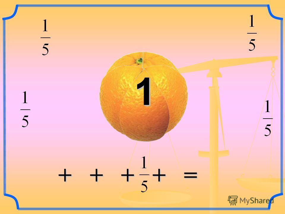 + + + + = + + + + = 11