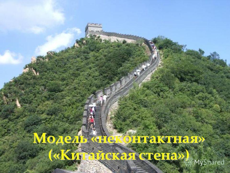 Модель «неконтактная» («Китайская стена»)