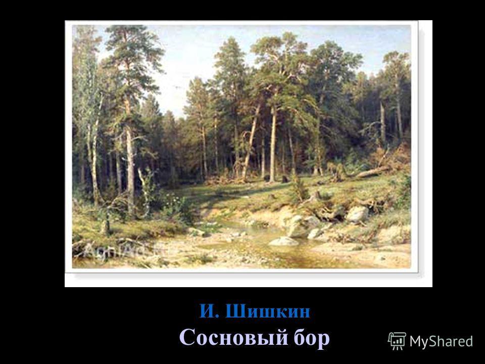 И. Шишкин Сосновый бор