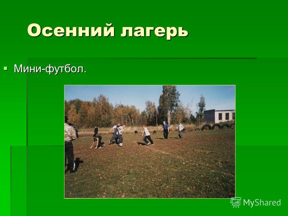 Осенний лагерь Безопасное колесо. Безопасное колесо.