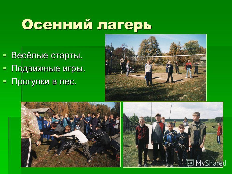 Осенний лагерь Мини-футбол. Мини-футбол.