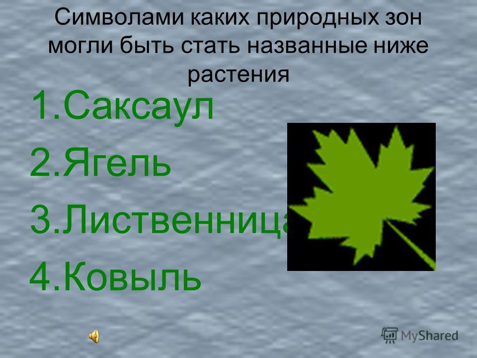 Проверим себя: 1.Тайга 2.Степь 3.Лиственный лес 4.Смешанный лес 5.Пустыня 6.Тундра