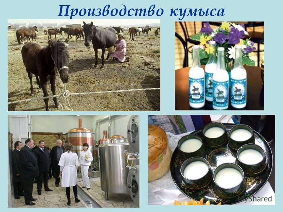 Производство кумыса