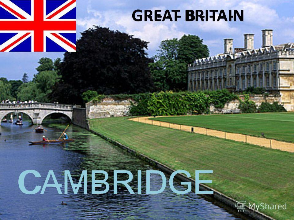 G - - - - B - - - - -GREAT BRITAIN C - - - RIDGECAMBRIDGE
