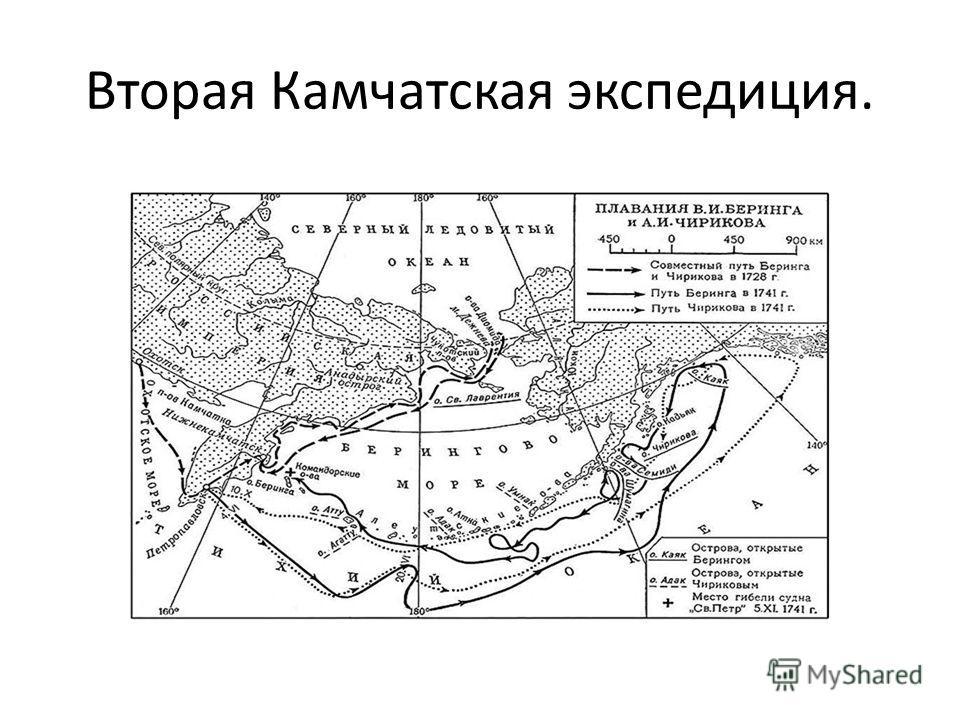 Вторая Камчатская экспедиция.