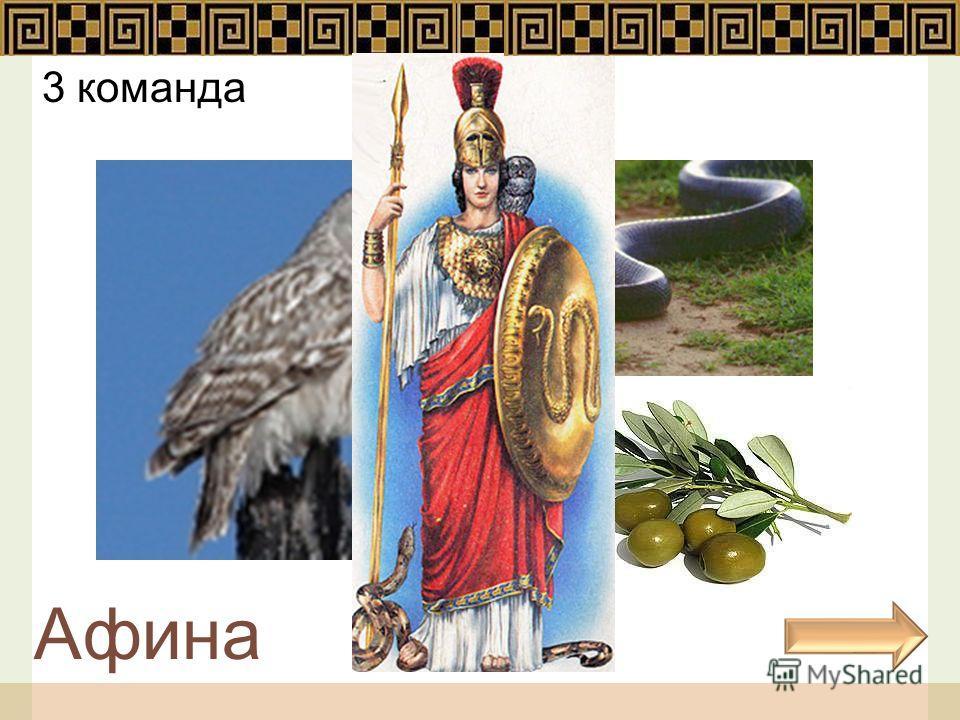 3 команда Афина
