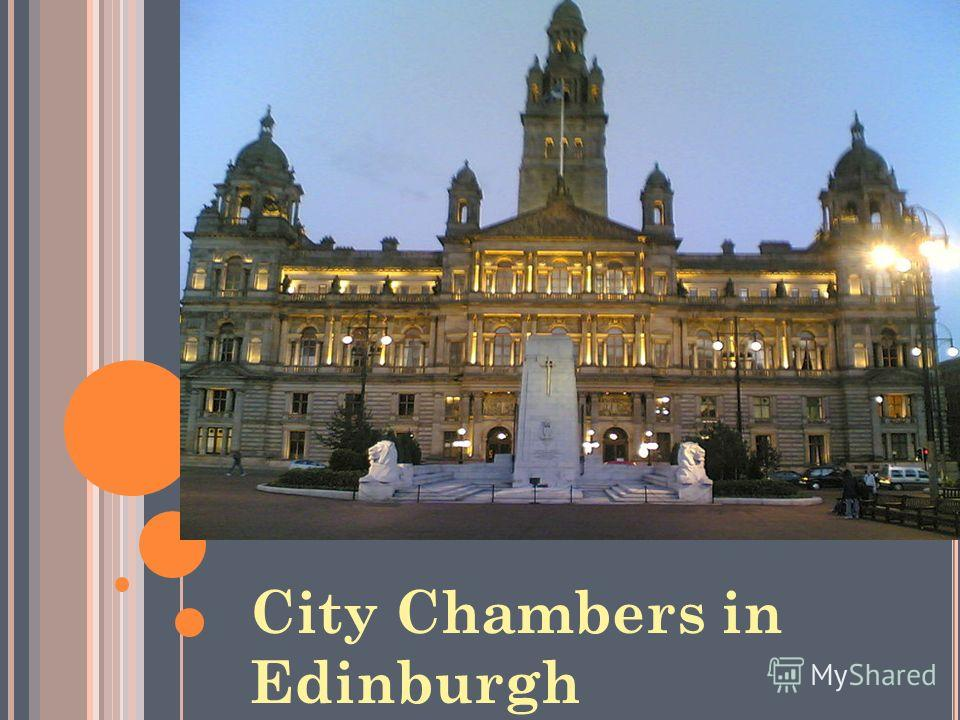 City Chambers in Edinburgh